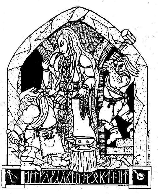 Śmierć Thingola - dawna praca Toma Lobacka